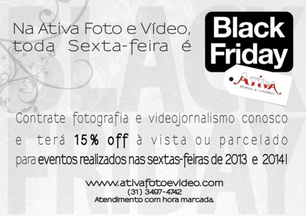 BLACK FRIDAY ATIVA