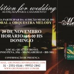 Audition for Wedding - November