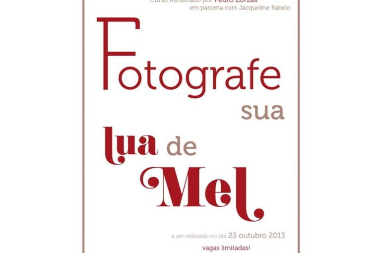 "Workshop ""Fotografe sua Lua de Mel"""